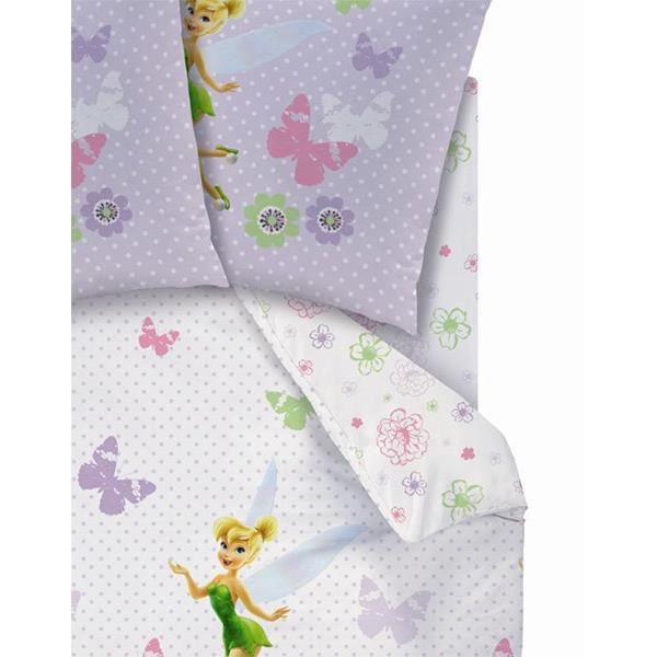 drap housse disney fairies achat vente drap housse cdiscount. Black Bedroom Furniture Sets. Home Design Ideas