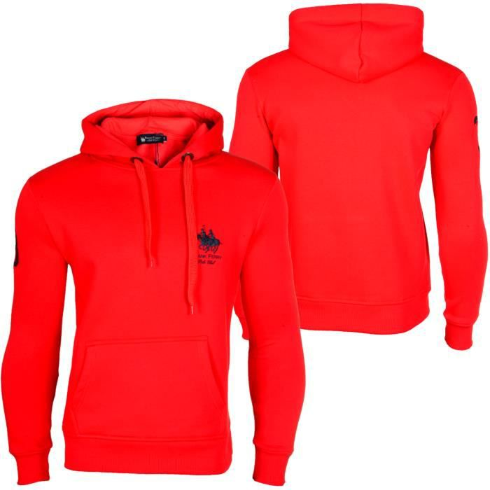 Homme Hoodie Ferry Club Achat Frank Taille Rouge Polo L IwU4ttdx