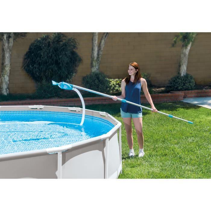 Piscine sol brosse daspiration bassin piscine aspirateur de sol Sous Vide Set de Brosse de Nettoyant