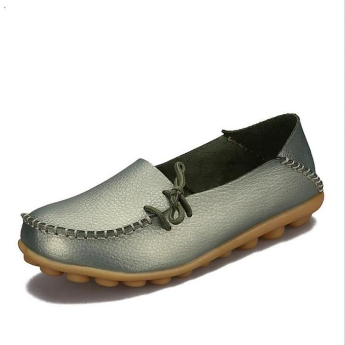 Moccasin 2017 Confortable Respirant cuirGrande Taille nAiYswIz