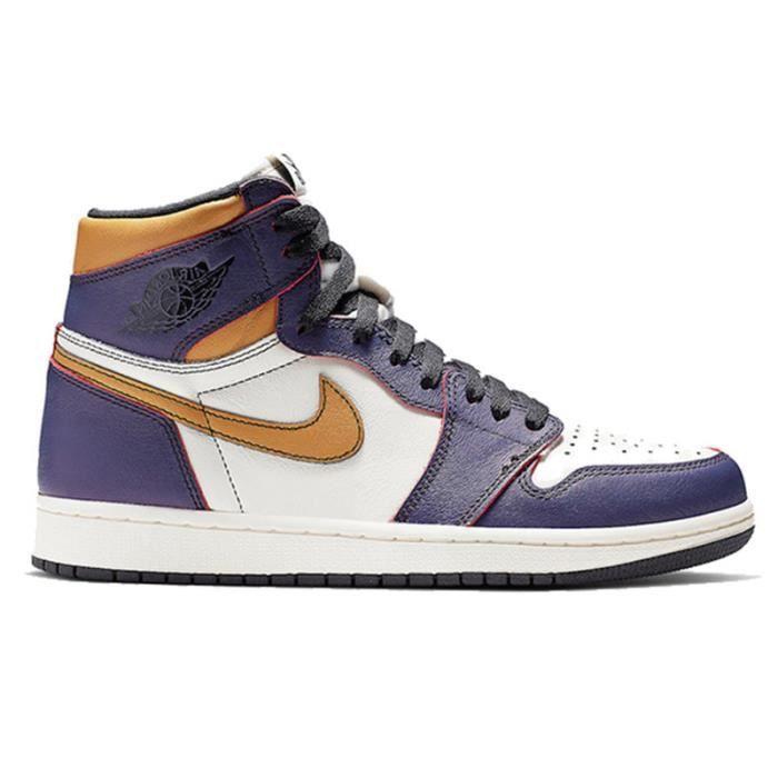 basket air jordan 1 violet