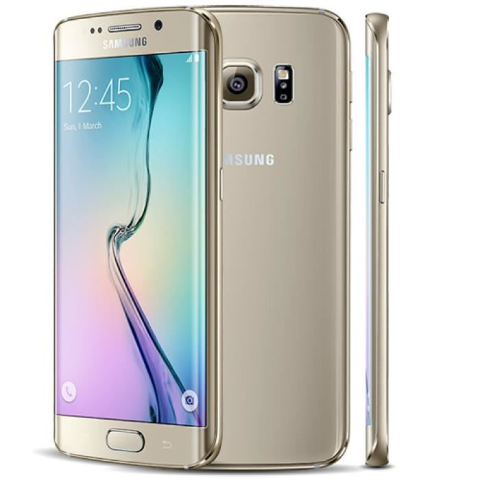 samsung galaxy s6 edge 64gb or achat smartphone pas cher. Black Bedroom Furniture Sets. Home Design Ideas