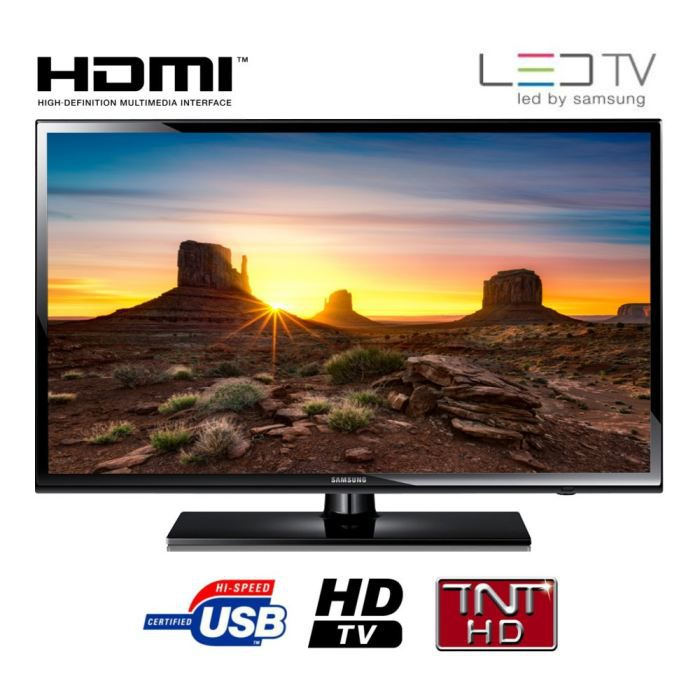 samsung tv ue32eh4003 hd 80cm 32 pouces led 2 hdmi classe a achat vente. Black Bedroom Furniture Sets. Home Design Ideas