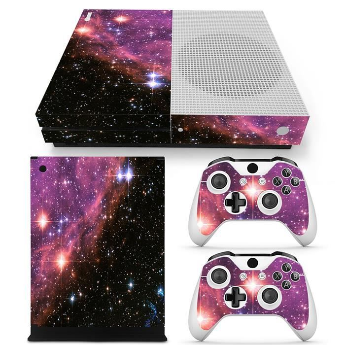 stickers xbox one s console et manette prix pas cher. Black Bedroom Furniture Sets. Home Design Ideas