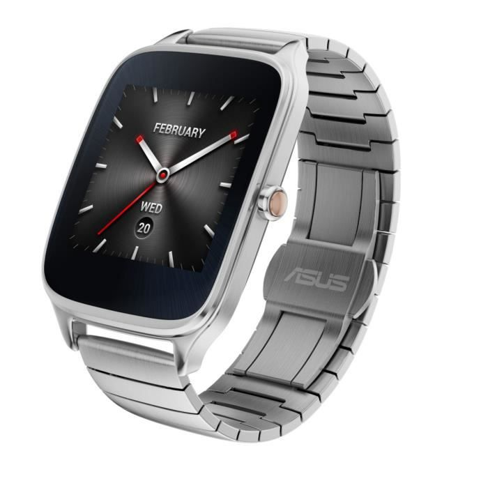 asus zenwatch 2 montre connect e 1 63 m tallique achat montre connectee pas cher avis et. Black Bedroom Furniture Sets. Home Design Ideas