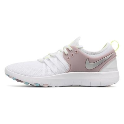 new style 12354 81575 ... Nike Dames Blanc Baskets Femme Métallique Free Tr Training 7 vrq76xvPng  ...