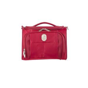 TROUSSE DE TOILETTE  VISA DELSEY Vanity Souple 24,5cm PIN UP5 Rouge