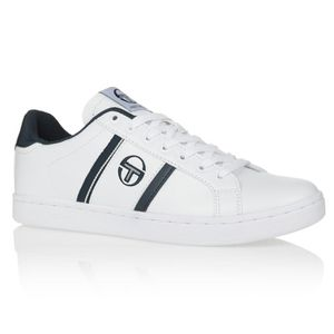 SERGIO TACCHINI Baskets Nizza Flag Chaussures Homme Blanc et