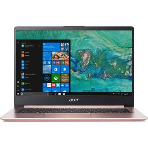 "Vente PC Portable Ultrabook - ACER Swift SF114-32-P5ZE - 14"" FHD - Pentium Silver N5000 - RAM 4Go - Stockage 128Go SSD - Windows 10 pas cher"