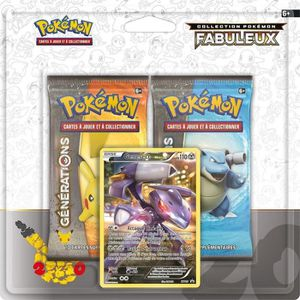 CARTE A COLLECTIONNER Coffret Pokemon