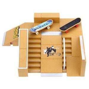 FINGER SKATE - BIKE  5pcs pièces de Rampe de kit de Skate Park pour la