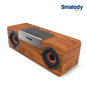 ENCEINTE NOMADE Sans fil Bluetooth portable en bois Haut-parleur s