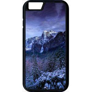 coque apple iphone 6s paysage lunaire montagne