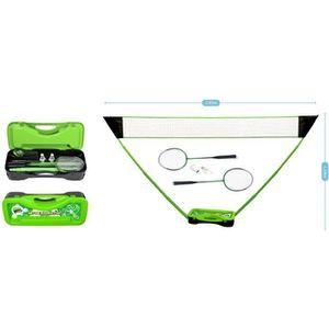 KIT BADMINTON Set de Badminton complet avec filet 295 x 38 x 154