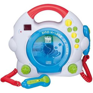 RADIO CD ENFANT CD-Player avec 2 micros