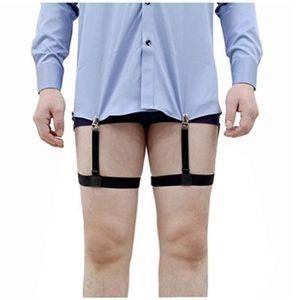 Hommes Chaussettes Garters Élastique Chaussette reste Clip ceinture réglable bretelles Accessoires