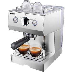 MACHINE À CAFÉ Aicok Cafetière Expresso, Machines à Café Expresso