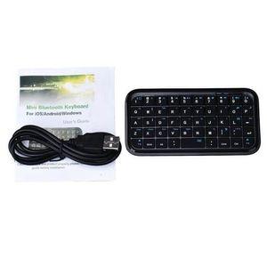CLAVIER D'ORDINATEUR Mini clavier sans fil Bluetooth pour iPad PC porta