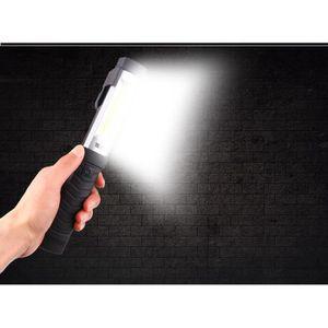 LAMPE DE POCHE 1500mAh Lampe de Travail COB Baladeuse LED recharg