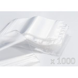 qualité pro pochettes sacs plastique pochons transparents Sachet ZIP 230x320
