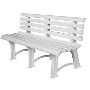 banc de jardin pvc achat vente banc de jardin pvc pas cher cdiscount. Black Bedroom Furniture Sets. Home Design Ideas