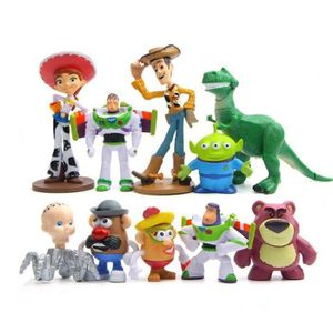 FIGURINE - PERSONNAGE ss-33-1 Ensemble = 10 pcs Toy Story Figurine perso