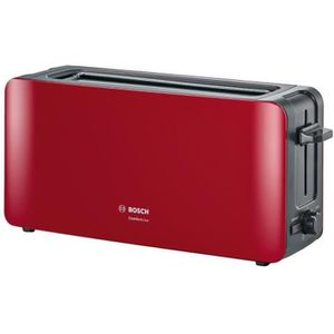GRILLE-PAIN - TOASTER BOSCH TAT6A004 Grille-pain ComfortLine - Rouge