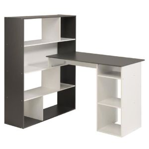 meubles bureau angle achat vente meubles bureau angle pas cher cdiscount. Black Bedroom Furniture Sets. Home Design Ideas