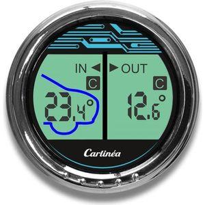 DÉCORATION VÉHICULE Thermomètre intérieur/extérieur