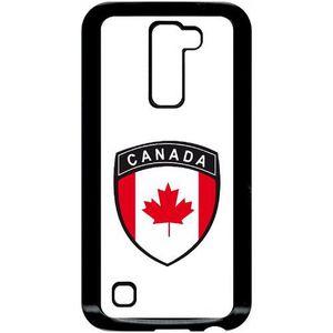 SMARTPHONE Coque pour smartphone - Plastique - Noir LG K10 BL