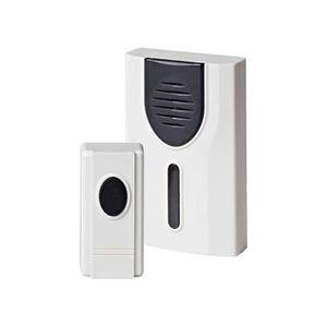 Gong Grundig Sonnette de porte/ /Sonnette /Carillon sans fil /à piles avec 2/r/écepteurs/