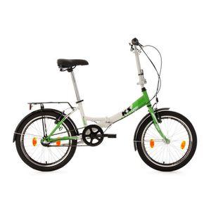 VÉLO PLIANT Vélo pliant 20'' FX 300 vert TC 30 cm KS Cycling