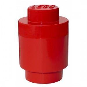 BOITE DE RANGEMENT Lego géant boîte ronde rouge ()