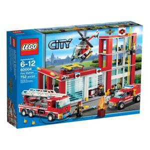 ASSEMBLAGE CONSTRUCTION LEGO® City 60004 La Caserne des Pompiers