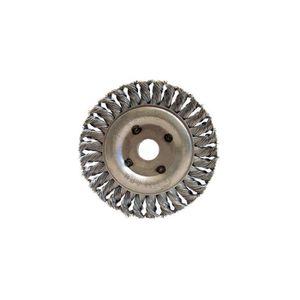 PRTMBR150R3 /ép bagues 20-14-12,7 mm 18mm Brosse m/étallique pour touret D Ribitech fil acier 0,35 mm 32 mm 150 mm Al Ribitech