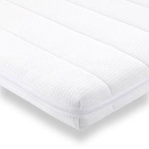 SUR-MATELAS Sur-matelas 90x190 mousse confort housse microfibr