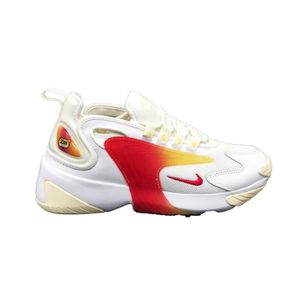 huge selection of 88285 2d0d1 BASKET NIKE ZOOM 2K SNEAKERS BIANCO ROSA GIALLO AO0354-1
