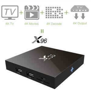 BOX MULTIMEDIA X96 4K Android 6.0 Smart TV Boîte Amlogic S905X Dé