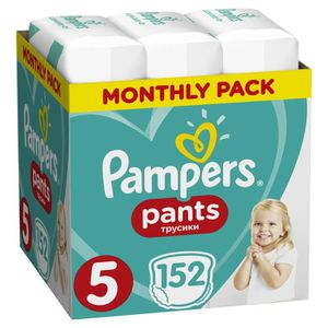 COUCHE PAMPERS Pants Taille 5 Junior 152 pcs