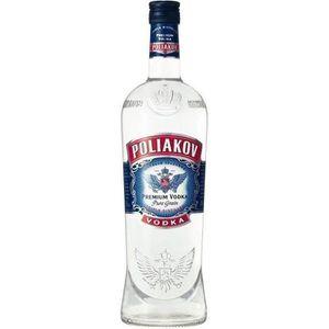 VODKA Vodka Poliakov - Vodka Russe - 37,5%vol - 100cl