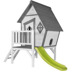 MAISONNETTE EXTÉRIEURE SUNNY Maisonnette Enfant Cabane en bois Lodge Cabi