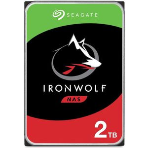 DISQUE DUR INTERNE SEAGATE - Disque dur Interne - NAS Iron Wolf - 2To