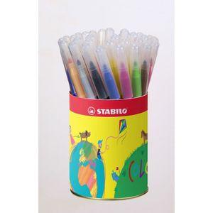 FEUTRES STABILO - Pot métal - lot de 36 feutres de coloria