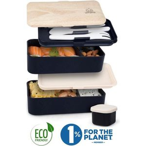 LUNCH BOX - BENTO  UMAMI® ⭐ Lunch Box Premium | Couverts, Pot À Sauce