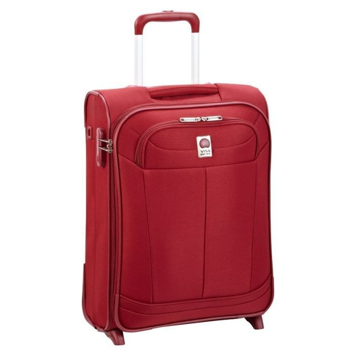 visa delsey valise trolley 2 roues 55 cm pin up 4 rouge rouge achat vente valise bagage. Black Bedroom Furniture Sets. Home Design Ideas
