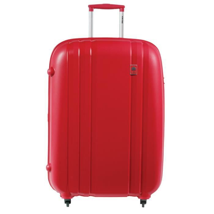 visa delsey valise trolley 4 roues 80 cm pp rouge achat vente valise bagage 3219110307177. Black Bedroom Furniture Sets. Home Design Ideas