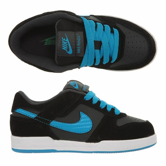 nike baskets renzo 2 enfant noir et bleu achat vente basket 3606503725074 cdiscount. Black Bedroom Furniture Sets. Home Design Ideas