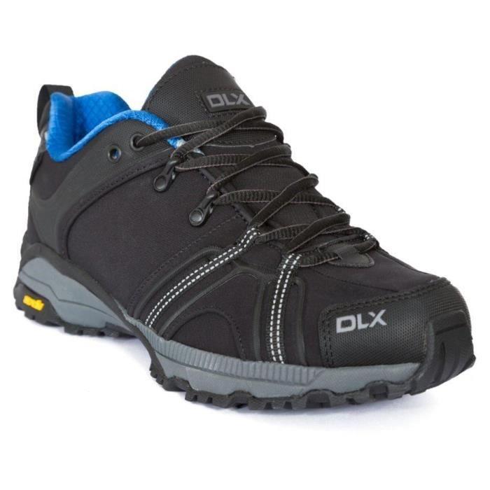 TRESPASS Chaussures de randonnée Keyboard - Homme - Noir et bleu