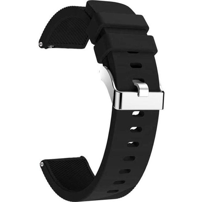 bracelet de montre vendu seul Pour Samsung Galaxy Watch Active Sport Bracelet en silicone souple Bande de remplacement