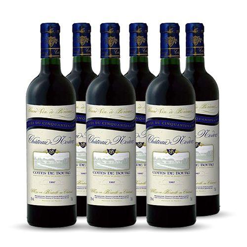 6 bouteilles - Vin rouge - Tranquille - CHATEAU NODOZ Cuvée Vielles Vignes Côtes de Bourg Rouge 2018 6x75cl